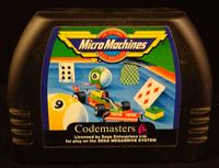 Sega Mega Drive: Micro Machines - Cart Only